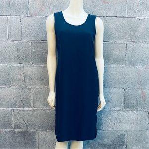 Jones & Co Black Silk Dress Size 6